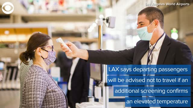 LAX Testing Thermal Cameras To Screen Passengers For Fevers