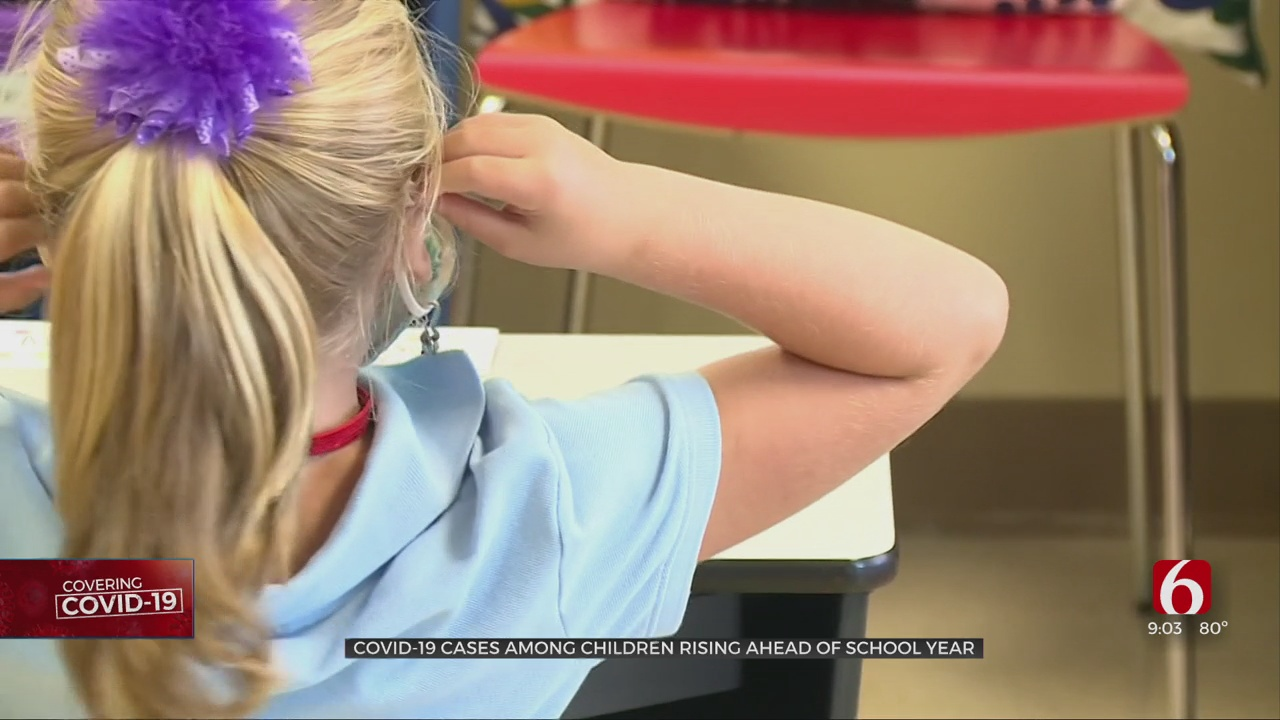 Pediatricians Worried About Rise In COVID-19 Cases As Oklahoma Schools Start