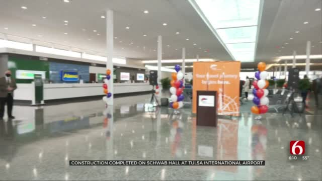 Mayor Joins Tulsa Airport Celebrating Renovated Hall, Says It's Gateway To Tulsa