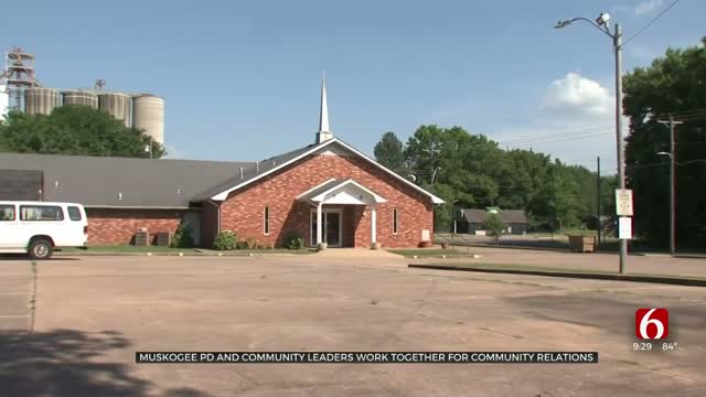 Muskogee Police Department Partners With Pastors, Community For Transparency