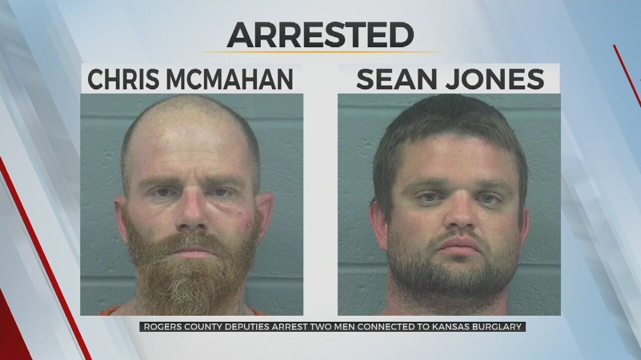 2 Men Arrested In Oklahoma, Accused Of Burglary In Kansas