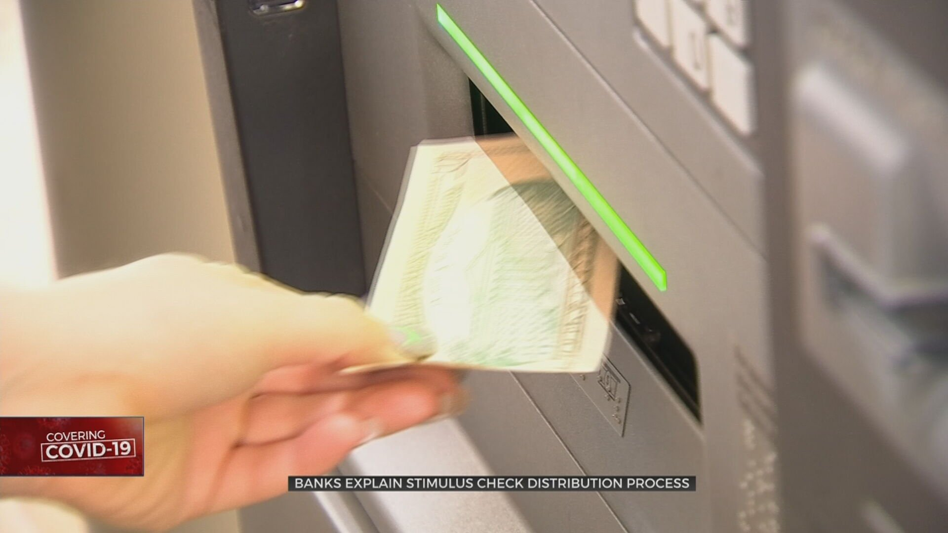 Oklahoma Banks Explain Stimulus Check Distribution Process