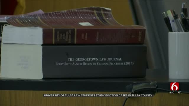 TU Law Studies Compares Eviction Statistics Before, After COVID-19