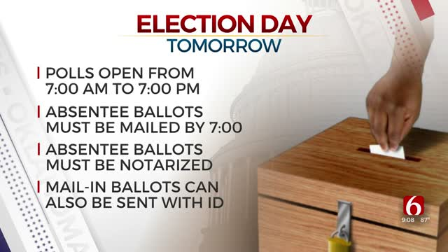 Oklahoma Primary Election Tuesday, Thousands Of Absentee Ballots Expected