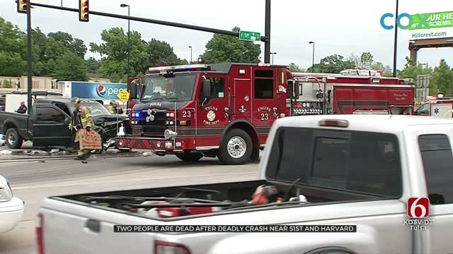 Tulsa Police Investigate Deadly Wreck