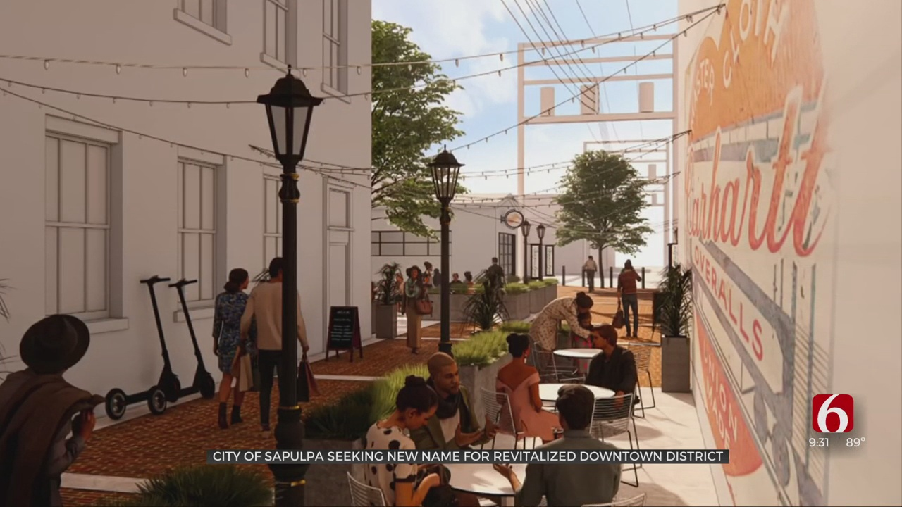 City Of Sapulpa Works To Revitalize Downtown As Place To Gather