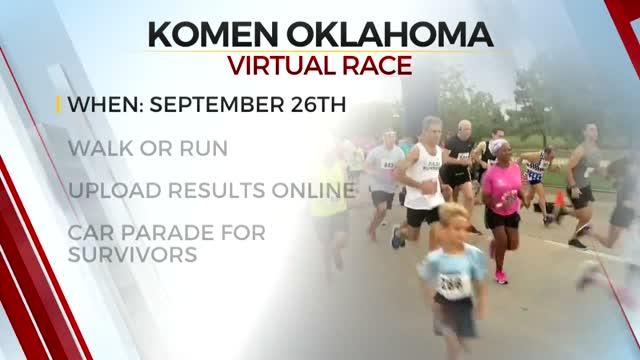 2020 Susan G. Komen Tulsa Race For The Cure Goes Virtual