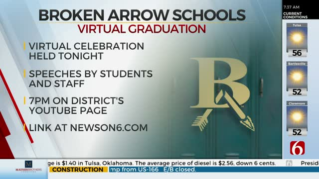 Broken Arrow Public Schools Holding Virtual Celebration For Class Of 2020
