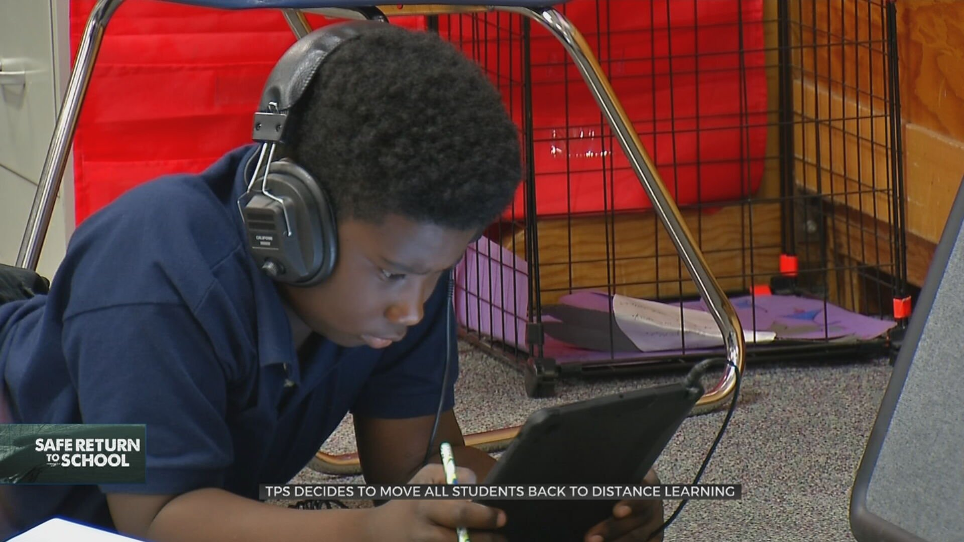 TPS Decides To Move All Students Back To Distance Learning