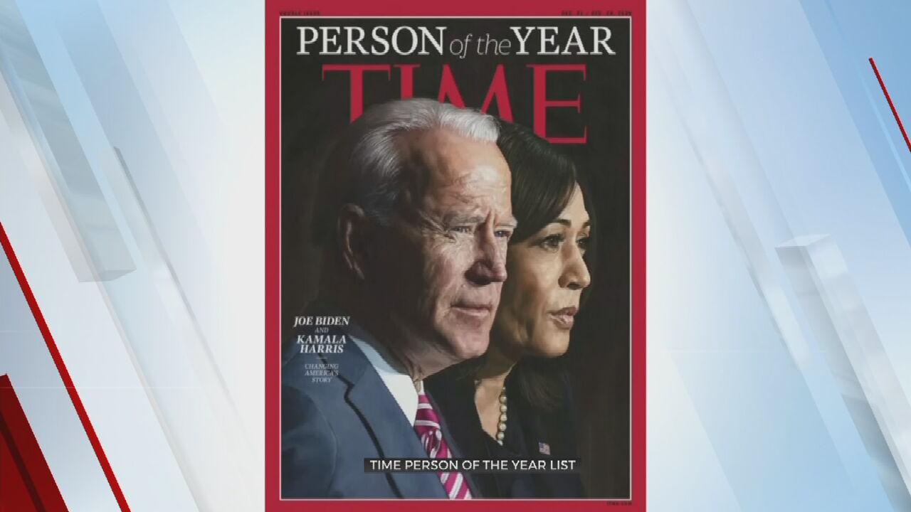 Joe Biden, Kamala Harris Named Time's Person Of The Year
