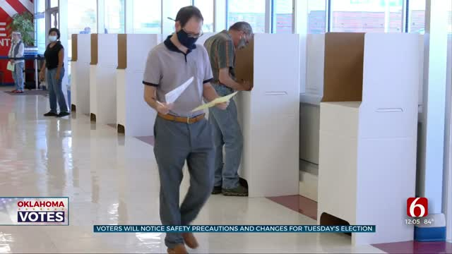 Early Voting Continues, Election Board Taking Precautions Due To COVID-19 Pandemic