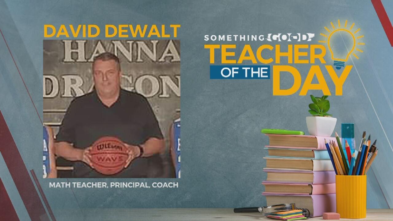 Teacher Of The Day: David Dewalt
