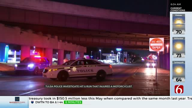 Tulsa Police Search for Driver After Hit-And-Run Crash