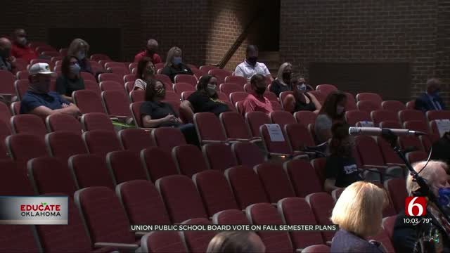 UPDATE: Union School Board Votes To Return In-Person For Start Of School Year