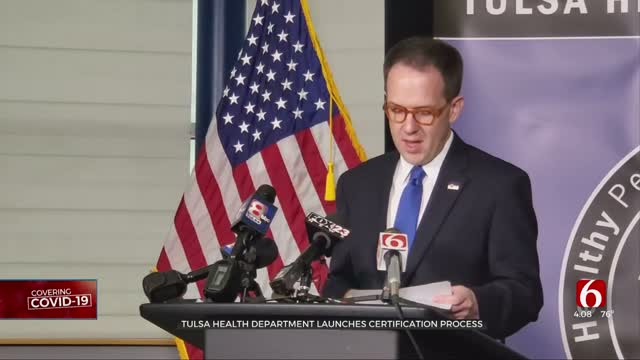 Tulsa Mayor Announces Mask Requirement For Restaurant, Bar Employees & Safety Plan Partnership