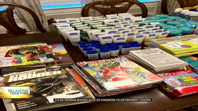 Tulsa Woman Shows Acts Of Kindness To Retirement Center