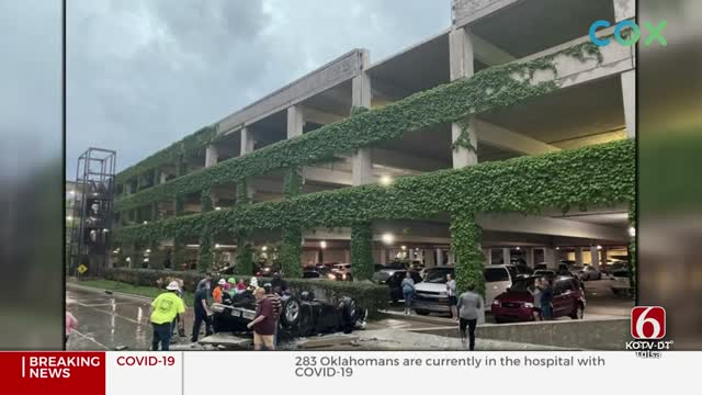 Man Whose Truck Fell From 4th Floor Of Tulsa Parking Garage Has Long Road To Recovery
