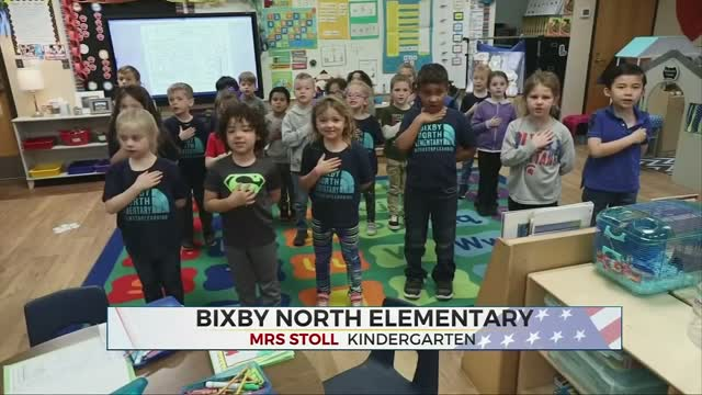 Daily Pledge: Bixby North Elementary