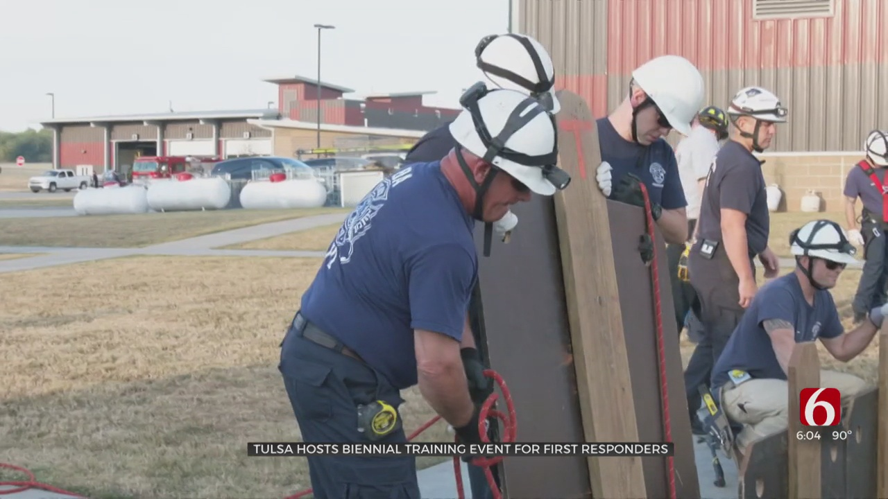 500 First Responders Train In Tulsa For Emergency Situations