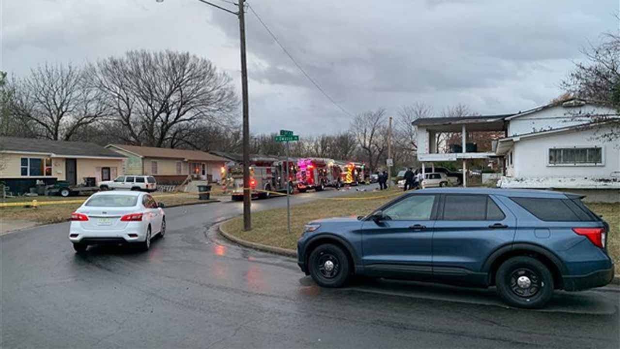 Person Shot By Police While Tulsa Officers, Firefighters Respond To House Fire