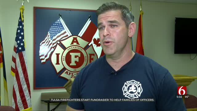 Tulsa Firefighters Start Fundraiser To Help Families Of Officers