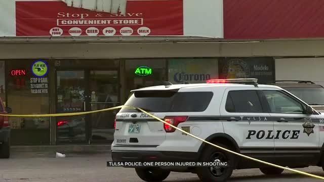 Police Respond To 1 Victim Shot In Tulsa