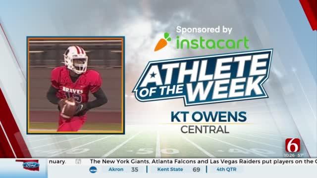 Instacart Athlete Of The Week: KT Owens