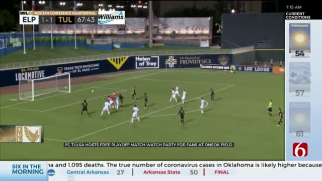 FC Tulsa Losses Against El-Paso Locomotive 2-4, Ending 2020 Season