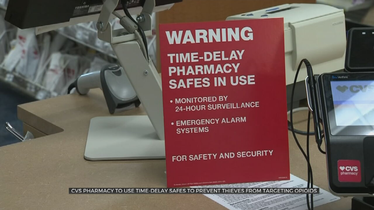 CVS Installs Time Delay Safes In All Oklahoma Stores To Prevent Robberies