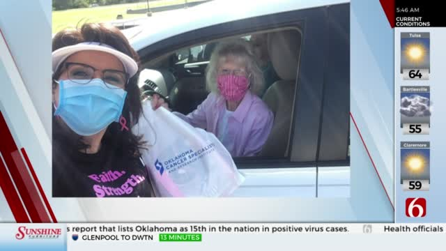 WATCH: Komen Race For The Cure Holds Packet, T-Shirt Pick Up