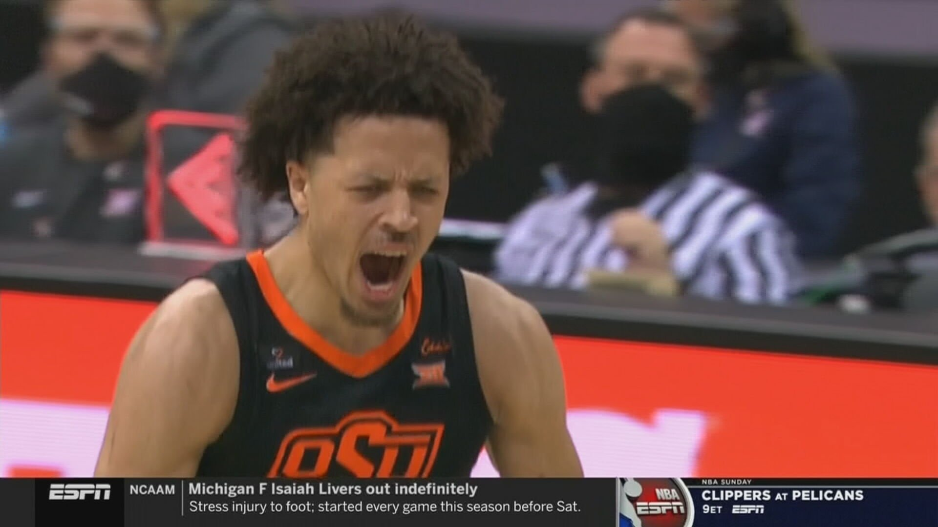 Cade Cunningham Named First-Team AP All-American, First In Program History