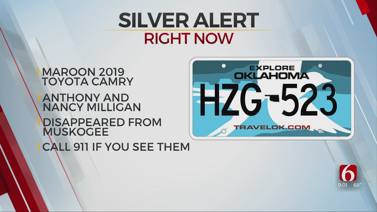 Silver Alert Issued For 2 Missing People In Muskogee