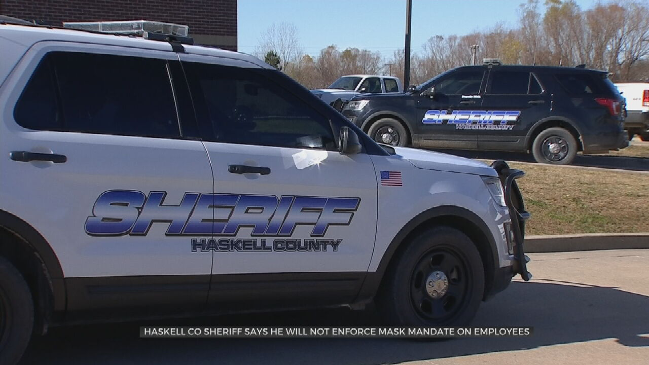 Haskell County Sheriff Speaks Out Against Biden Vaccine Mandate