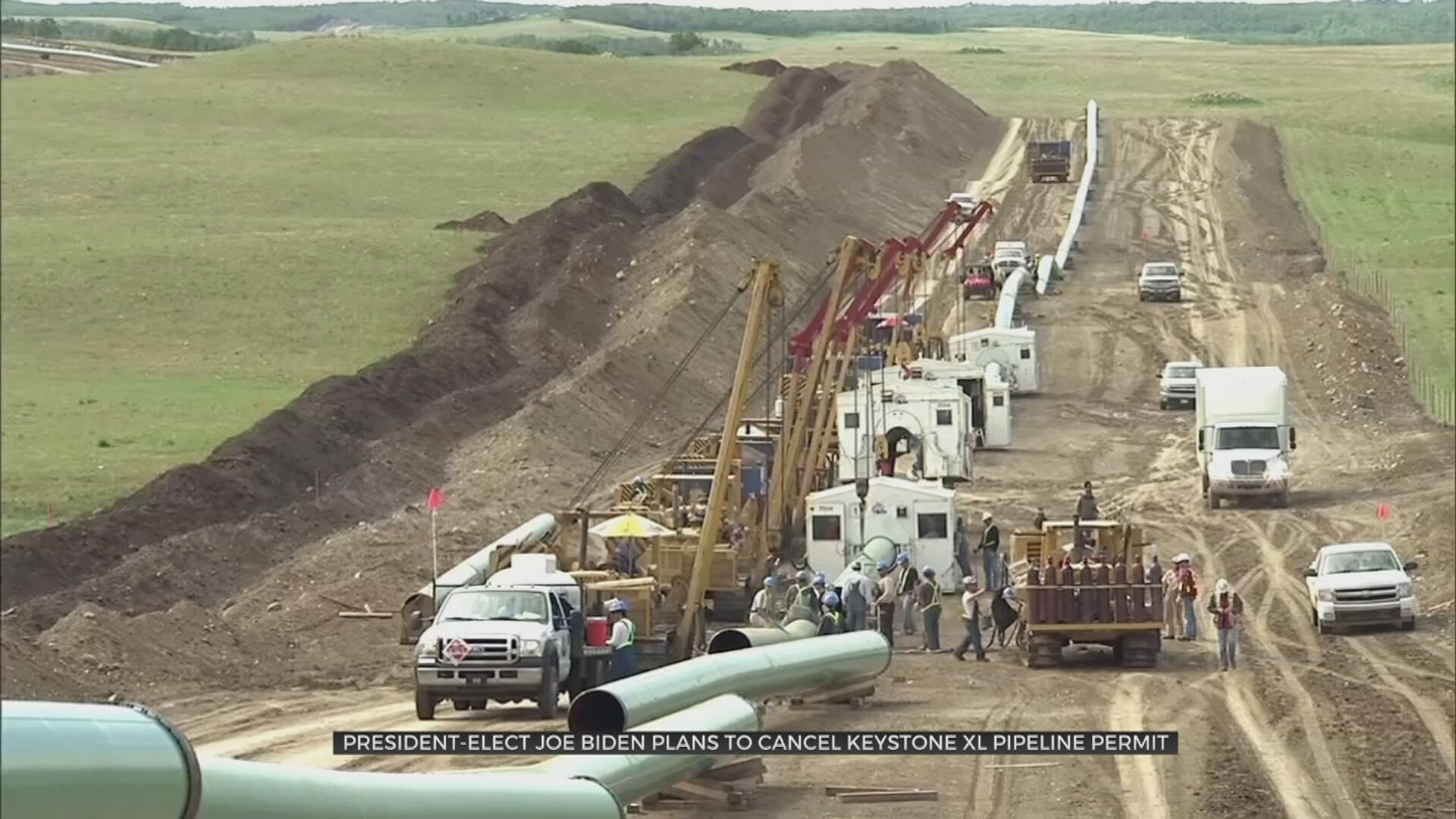 TU Professor, Cherokee Nation Weigh In On Possibility Biden Cancels Keystone XL Pipeline Permit