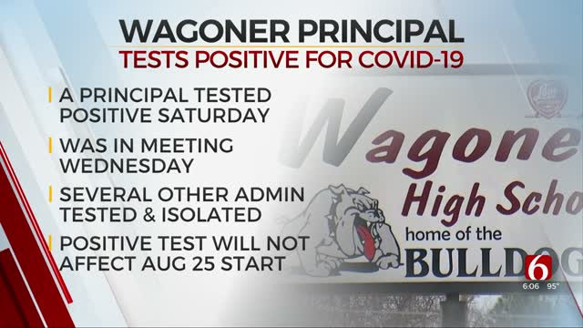 Wagoner School Administrators Isolate After One Principal Tests COVID-19 Positive