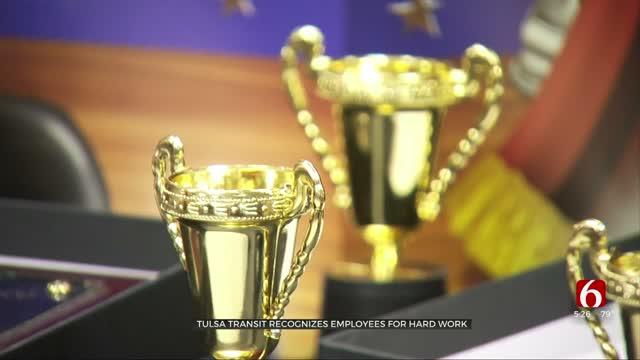 Tulsa Transit Recognizes Employees For Dedication, Hard Work