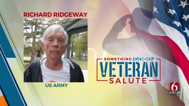 Veteran Salute: Richard Ridgeway
