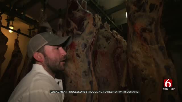 Oklahoma Meat Processors, Sellers See Increased Sales During Coronavirus Pandemic