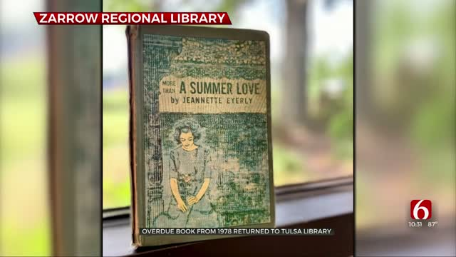 Overdue Book From 1978 Returned To Tulsa Library