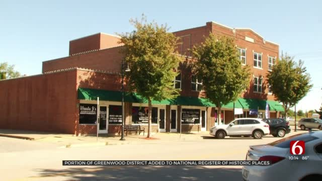 Stretch Of Greenwood District Added To National Register Of Historic Places