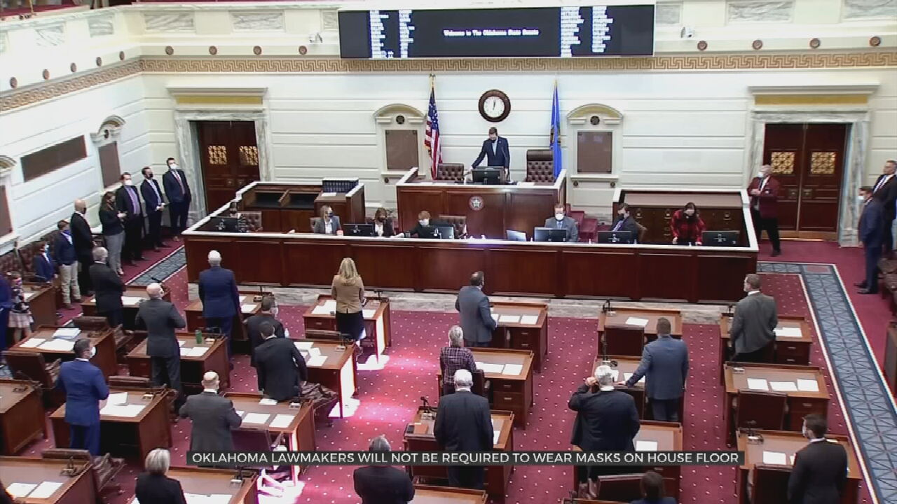 Oklahoma House Rejects Proposed Coronavirus Safety Measures
