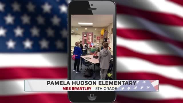 Daily Pledge: Mrs. Brantley's 5th Grade Class