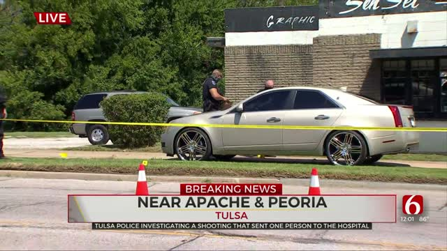 Tulsa Police Investigating After Man Shot