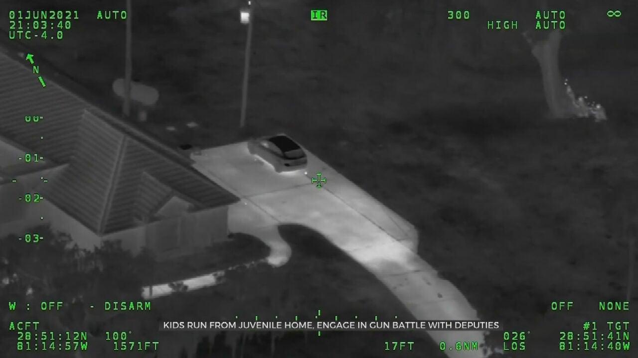 Pair Flees Juvenile Home, Engages In Gunbattle With Deputies
