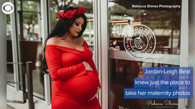 Expecting Mother Has Unique Maternity Photo Shoot