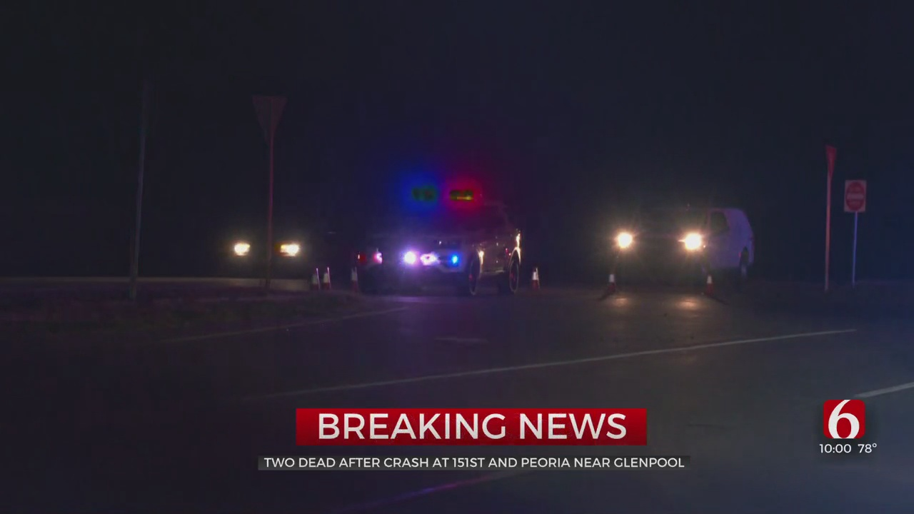 2 Dead After Multi-Vehicle Collision In Glenpool