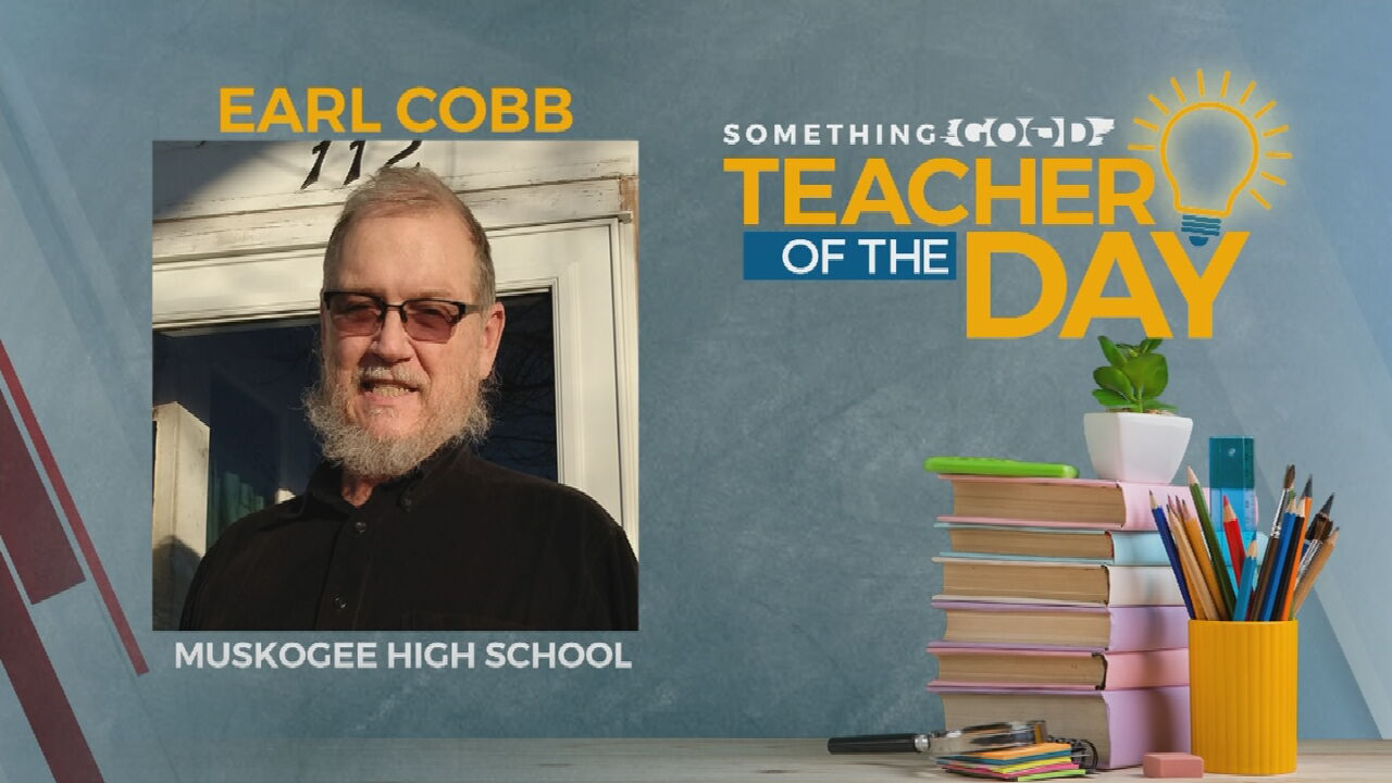 Teacher Of The Day: Earl Cobb