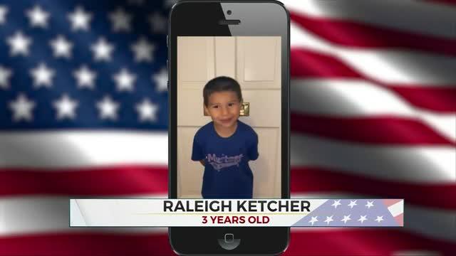 Daily Pledge: Raleigh Ketcher