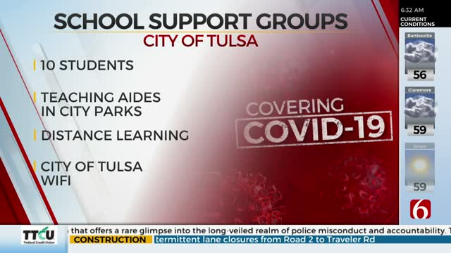 City Of Tulsa To Host School Support Groups For Families Of Essential Employees