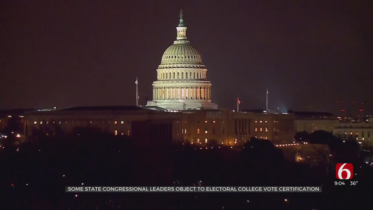 Members Of Oklahoma Delegation Discuss Electoral College Vote